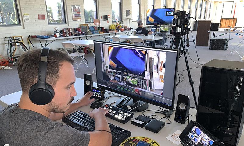 Live Broadcast Training